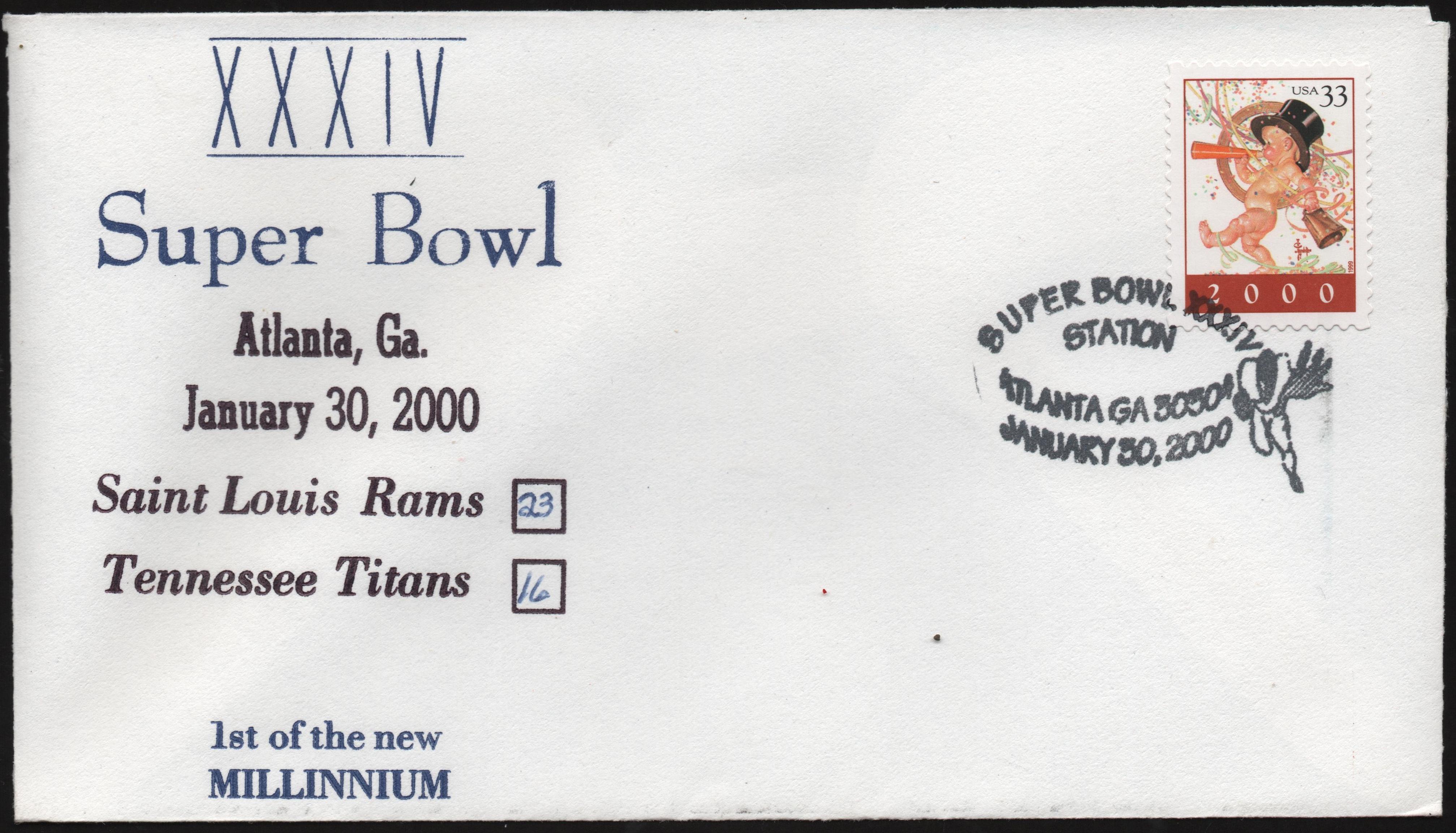 Super Bowl 2000 cover