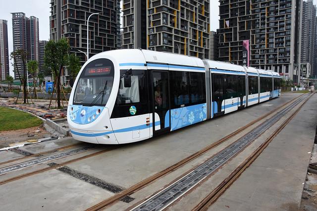 Zhuhai Tram 0105
