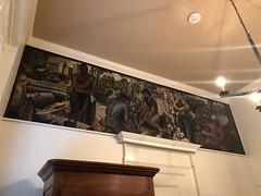 Covington Louisiana Post Office Mural