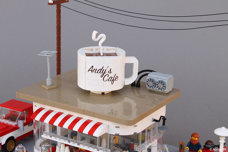 Caffetteria americana - Coffee Stand | Andy's Cafe
