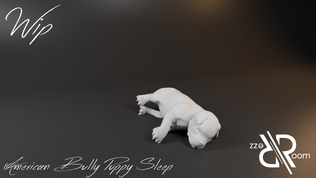American Bully Puppy Sleep - Copie - TeleportHub.com Live!