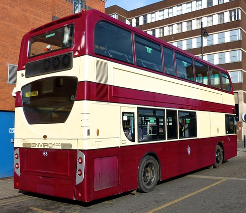 SN11 BMU 'midland classic No. 63 'Burton Corporation'. Alexander Dennis Ltd. (ADL) Trident / 'ADL' Enviro 400 /4 on Dennis Basford's railsroadsrunways.blogspot.co.uk'