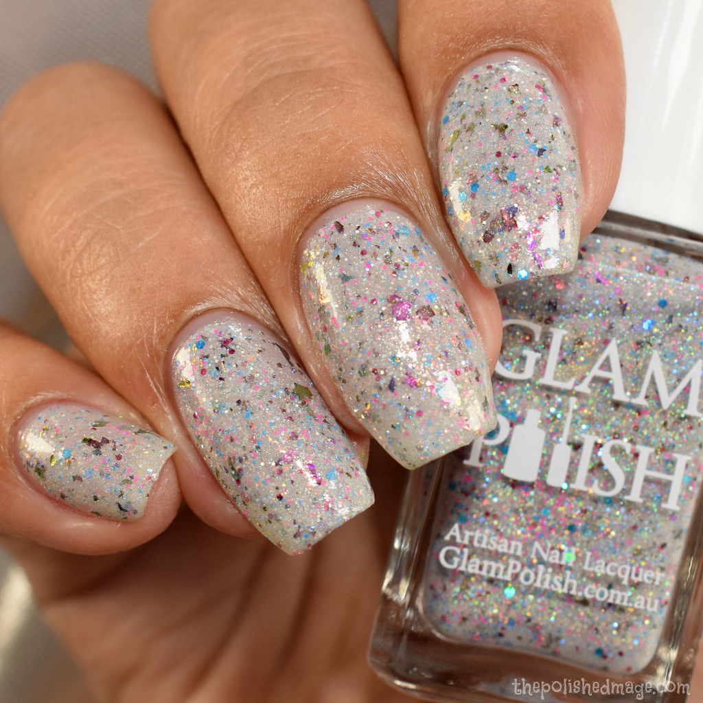 glam polish hey puddin 4