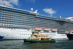 Cruise Ship and Ferry