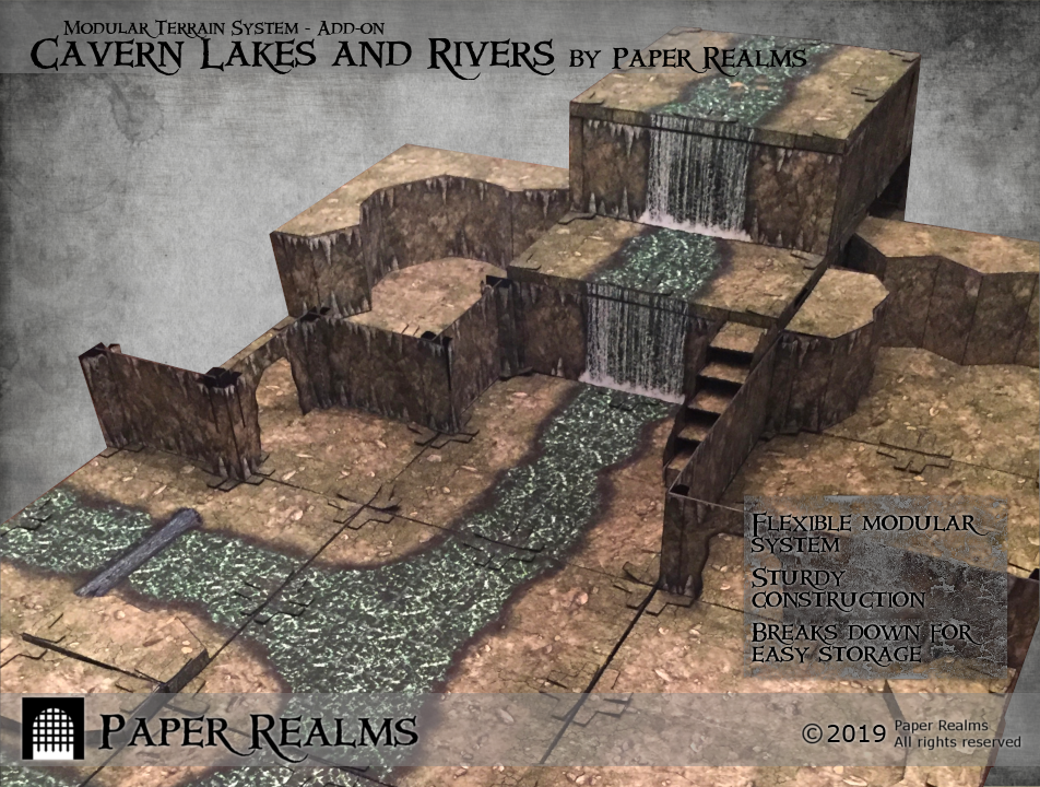 Cavern Lakes and Rivers