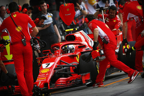 Scuderia Ferrari Pitcrew