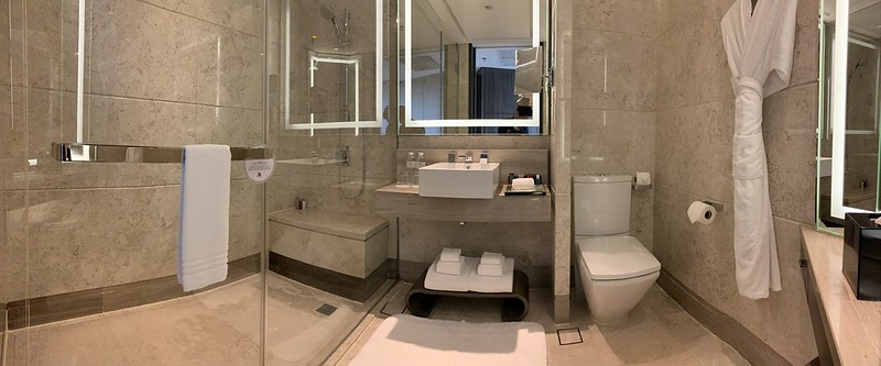 Singapore Marriott Tang Plaza Hotel - Premium Deluxe Room - Toilet