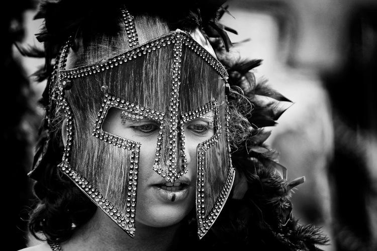 Fotografia em Palavras: Uma máscara