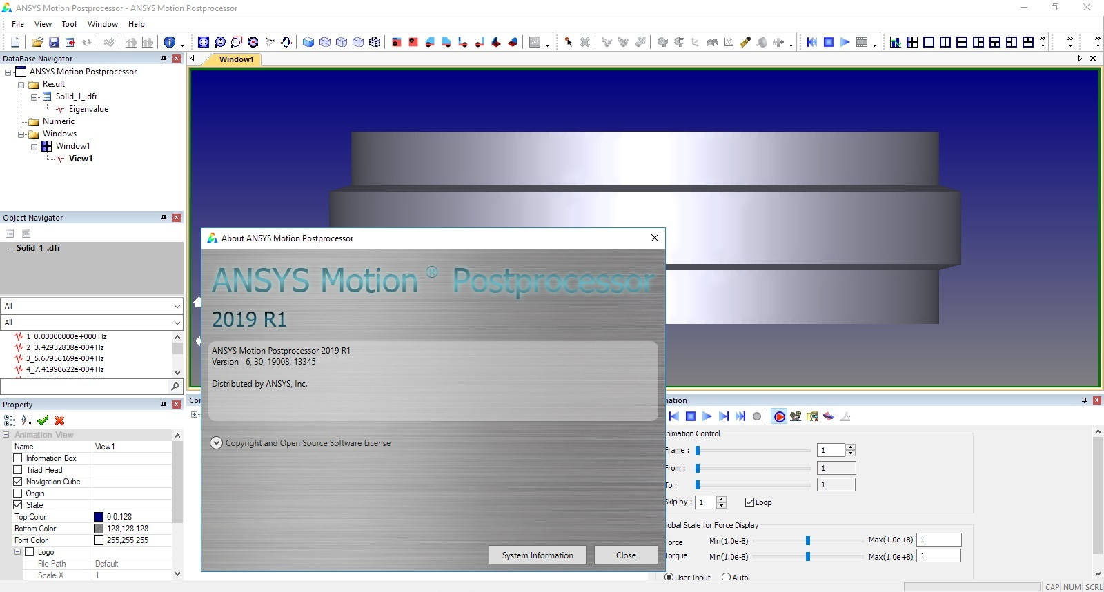 Working with ANSYS Motion 2019 R1 full license