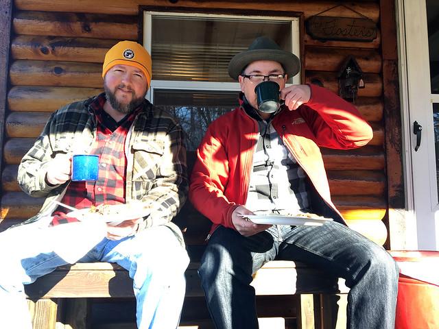 Cabin Camping, Firewood & Bats