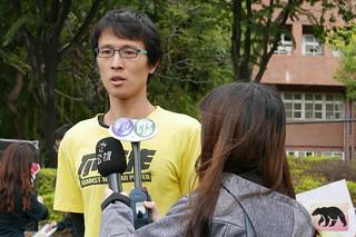 台中特殊教育學校專任老師岳祥文。攝影:鄒敏惠。
