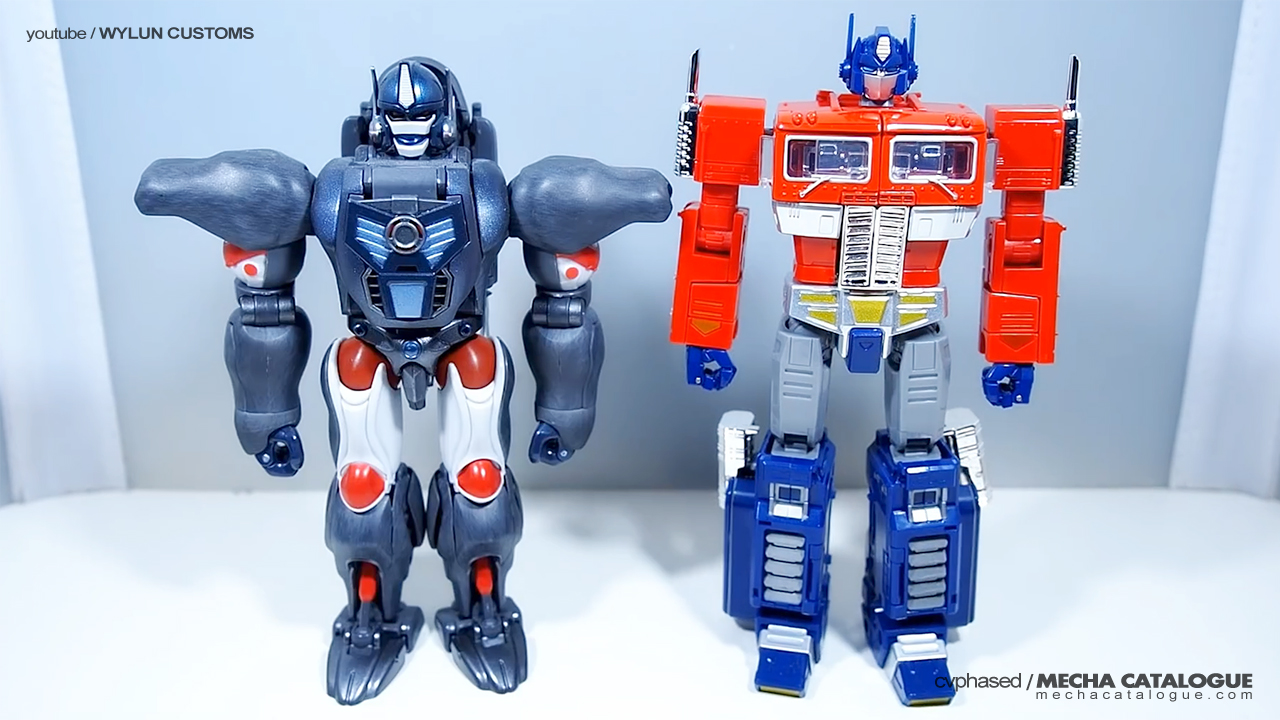Plastic Crack: Transformers Size Classes with KBBMP10-V