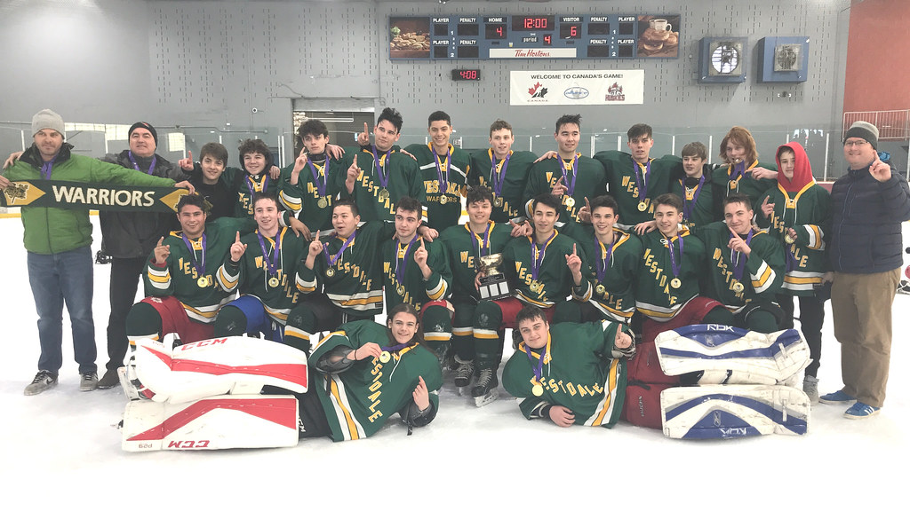 2018-19 HWIAC Non Contact Boys Hockey Champions: Westdale Warriors