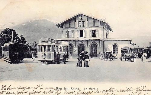 Trams de Bex (Suisse)