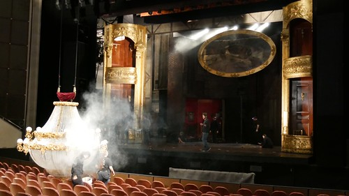 Behind the Scenes with the Phantom of the Opera, Quentin Oliver Lee. Photo: Dare'l McMillian