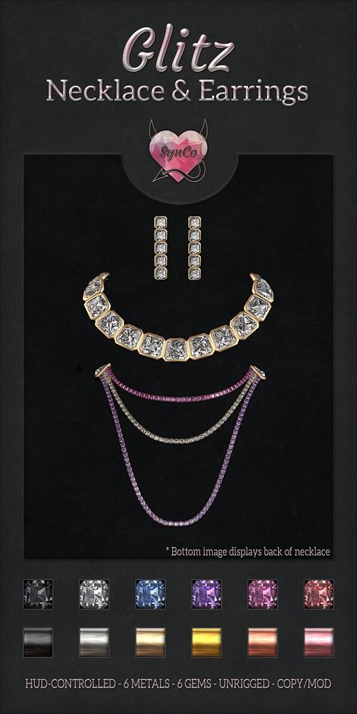 SynCo - Glitz Jewellery Set - TeleportHub.com Live!