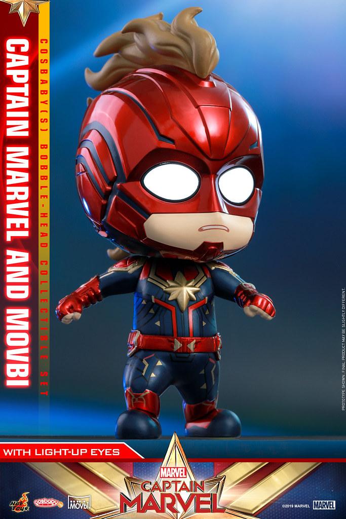 Goose 超萌的啦~ Hot Toys - COSB541、COSB546 -《驚奇隊長》驚奇隊長 Captain Marvel Cosbaby (S) Bobble-Head