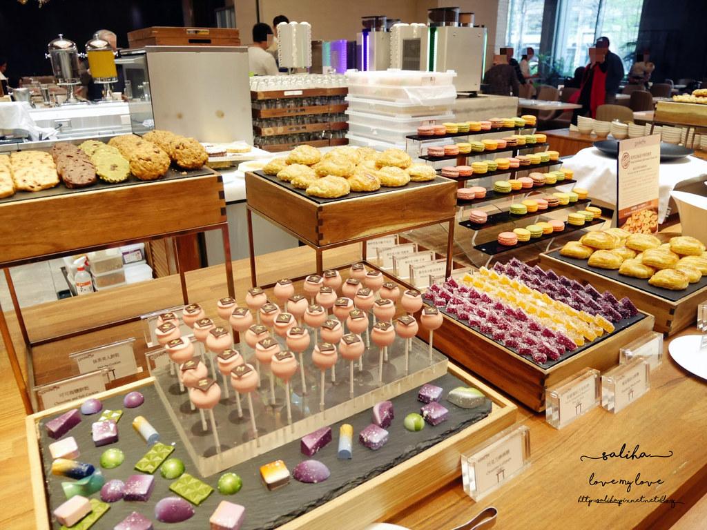 台北大直美福大飯店palette彩匯自助餐廳下午茶吃到飽buffet蛋糕甜點馬卡龍 (3)