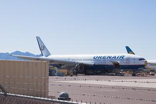 ex-Orenair (Rossiya Airlines) Boeing 777-200ER VQ-BNU