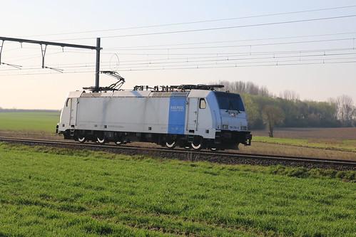 Rail Pool 186 292-9 Gingelom Borlo 30-03-2019