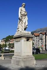05 GAP - Statue du Baron de Ladoucette