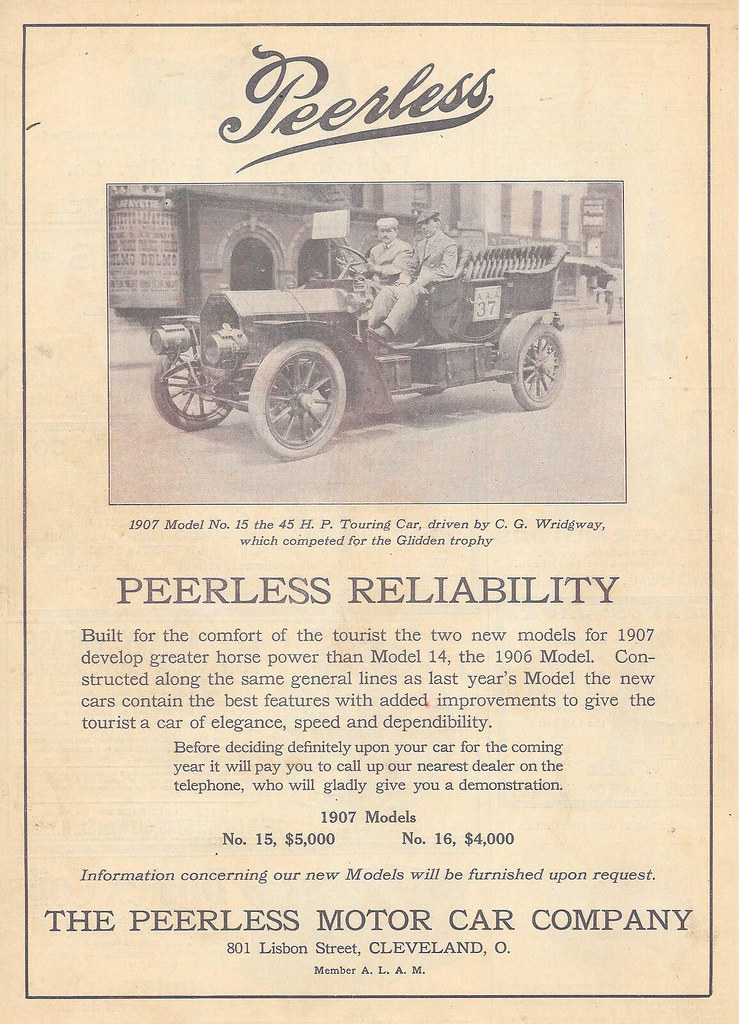 1907 Peerless Model No. 15