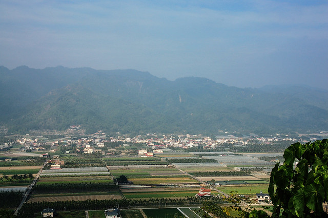 竹山口山遠眺月光山稜脈 4