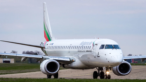 Embraer ERJ-190STD LZ-VAR Bulgaria Air