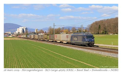 Re 465 015 BLS - Herzogenbuchsee