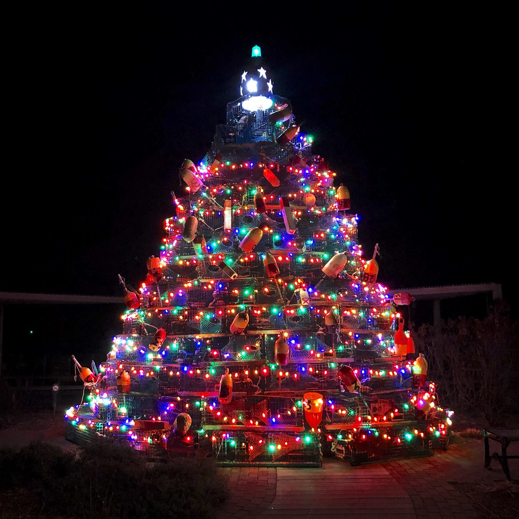 Island Christmas Tree.Time For The Block Island Lobster Pot Christmas Tree Flickr