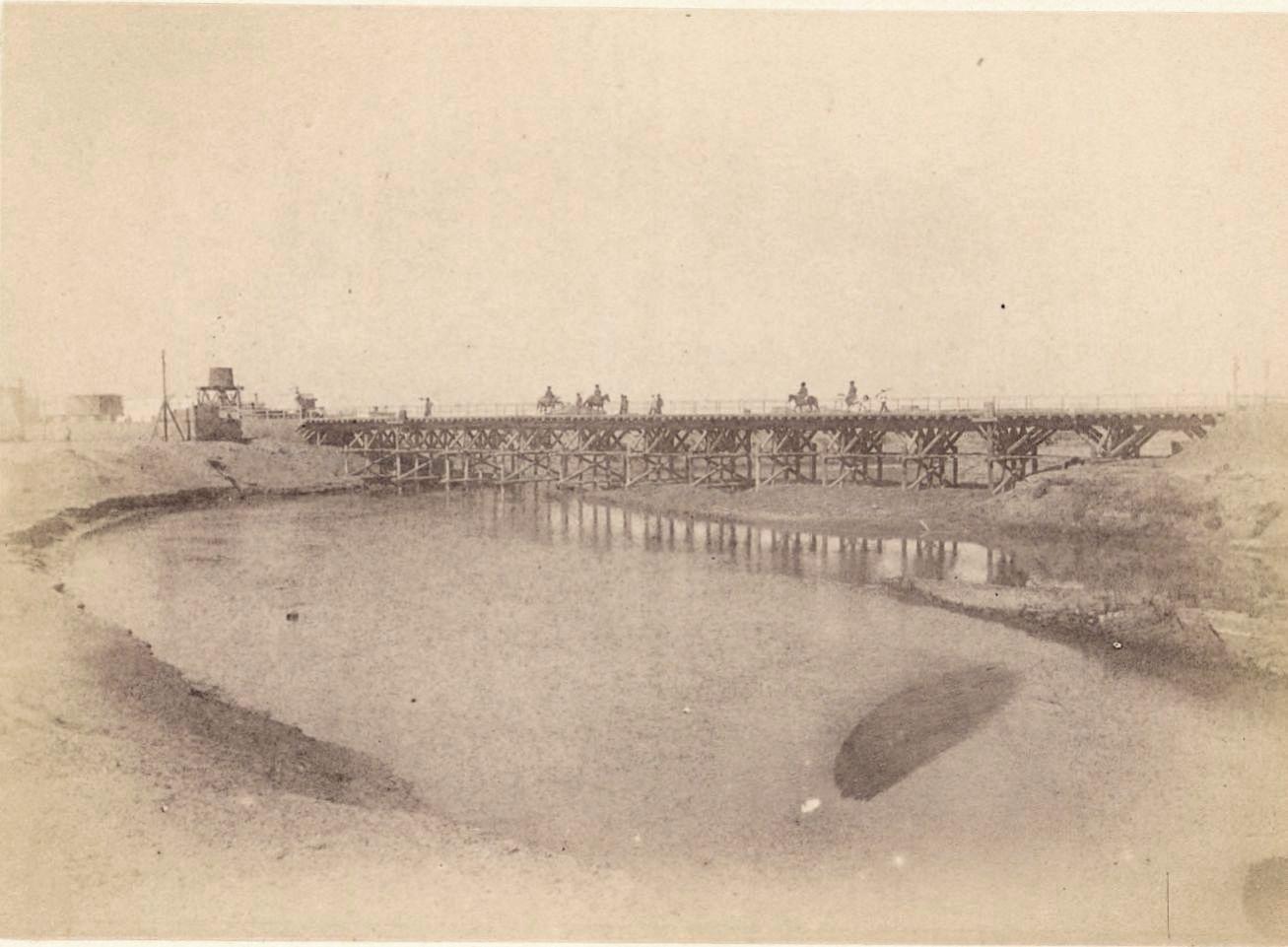 Мерв. Мост через Мургаб