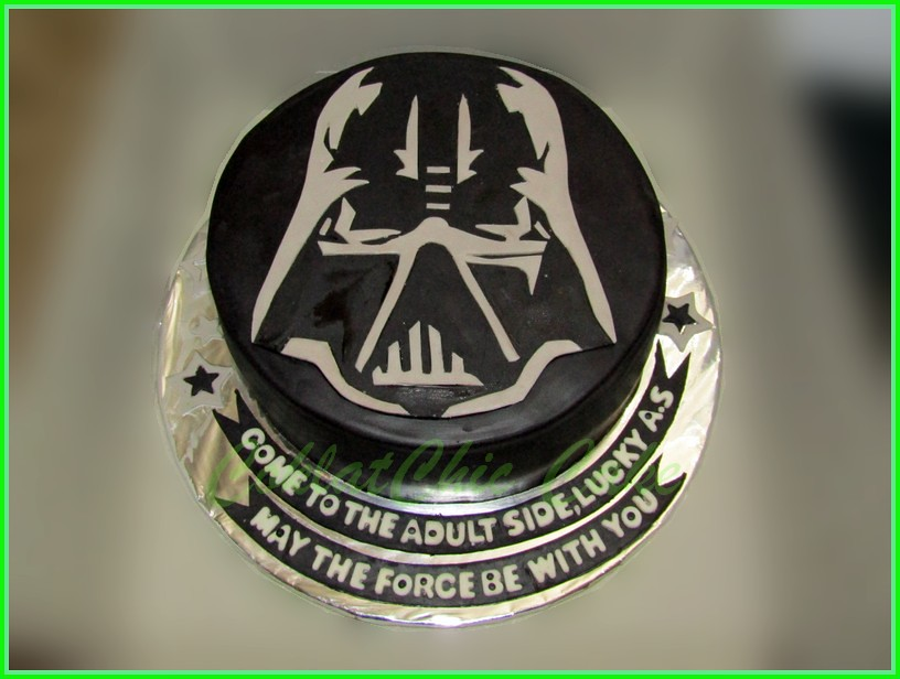 Cake StarWars Dart Vader LUCKY 20 cm