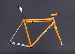 GTH Solid, Chrome Orange, Teal, Brilliant White, RISTRETTO