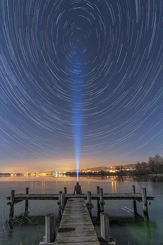 Lake Pfäffikon star trails