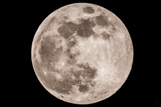 super moon / @ 1250 mm / 2019-02-19