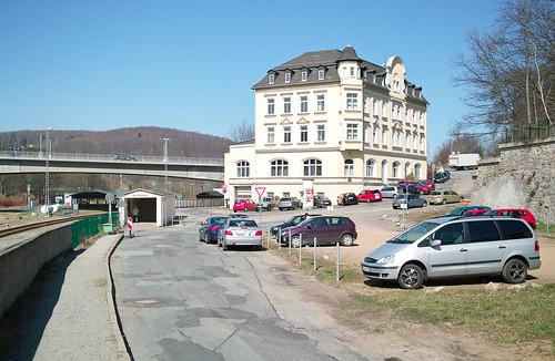 Aue - Am Bahnhof