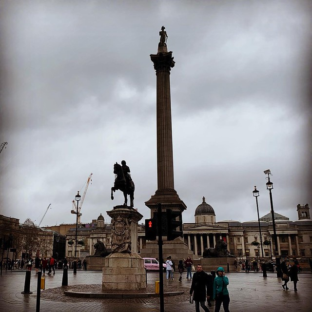 2019 London - Day 4 - Trafalgar Square