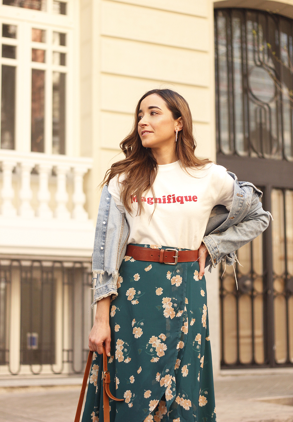 floral maxi converse skirt tshirt find amazon fashion street style outfit 20198