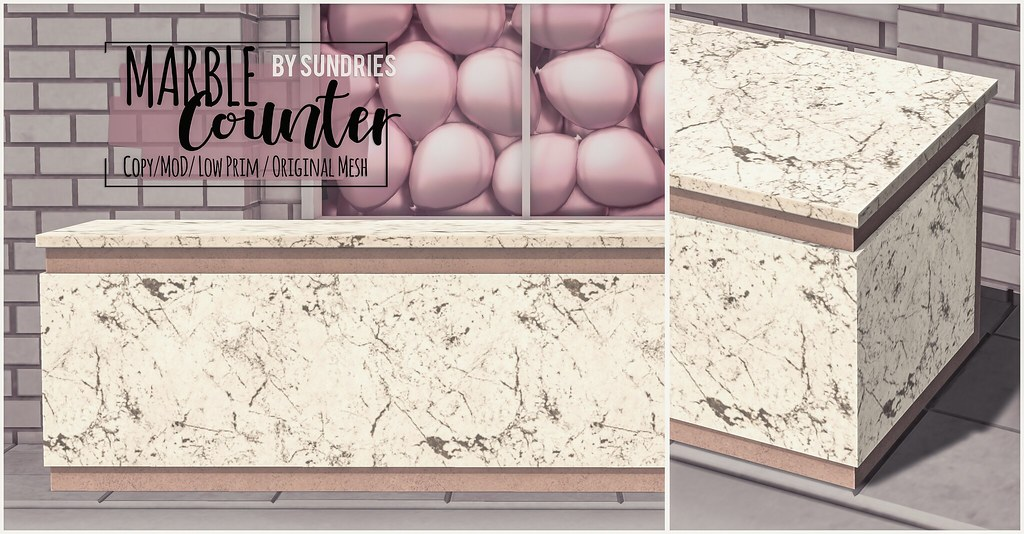 sundries – Marble Counter