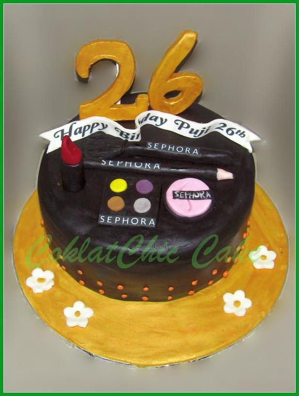Cake Cosmetics Sephora PUJI 18 cm