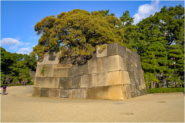 Photo:Ancient walls - The East Garden, Tokyo Imperial Palace, Japan By Geoff Whalan