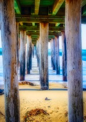 Under the Cayucos Pier No4