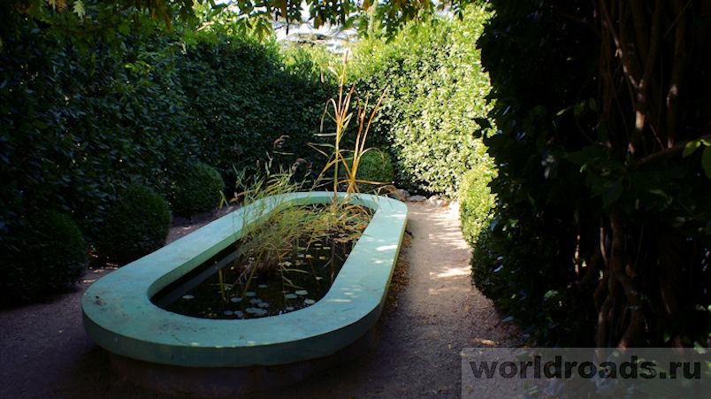 Никитский ботанический сад зеленый лабиринт