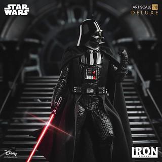 令人聞風喪膽的恐怖將軍!! Iron Studios《星際大戰六部曲:絕地大反攻》達斯·維德 豪華版 Darth Vader Deluxe 1/10 比例全身雕像作品