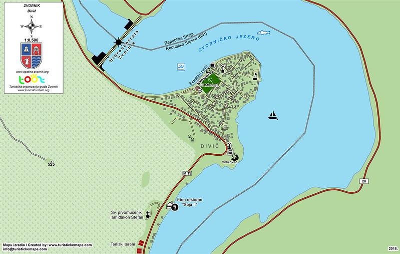 Карта Дивича