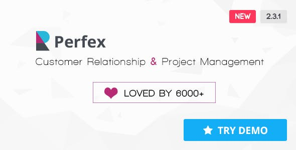 Perfex v2.3.1 – Powerful Open Source CRM