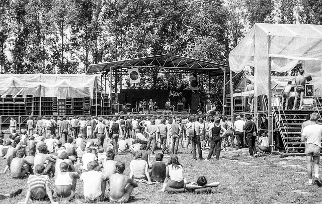 Jarocin Rock Festival. 1985