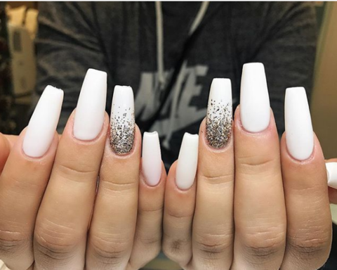 50 hottest white matte nail designs 2019  hairstyles 2u