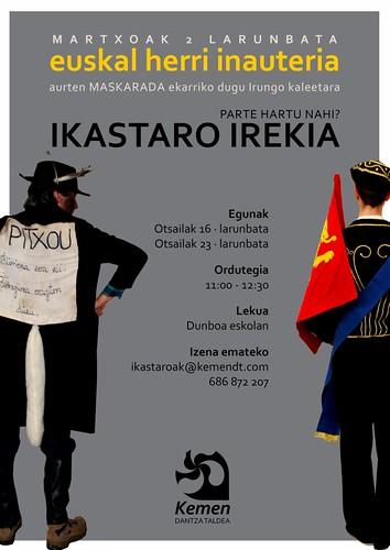 Cartel Euskal Herria Inauteria, Ikastaro Irekia