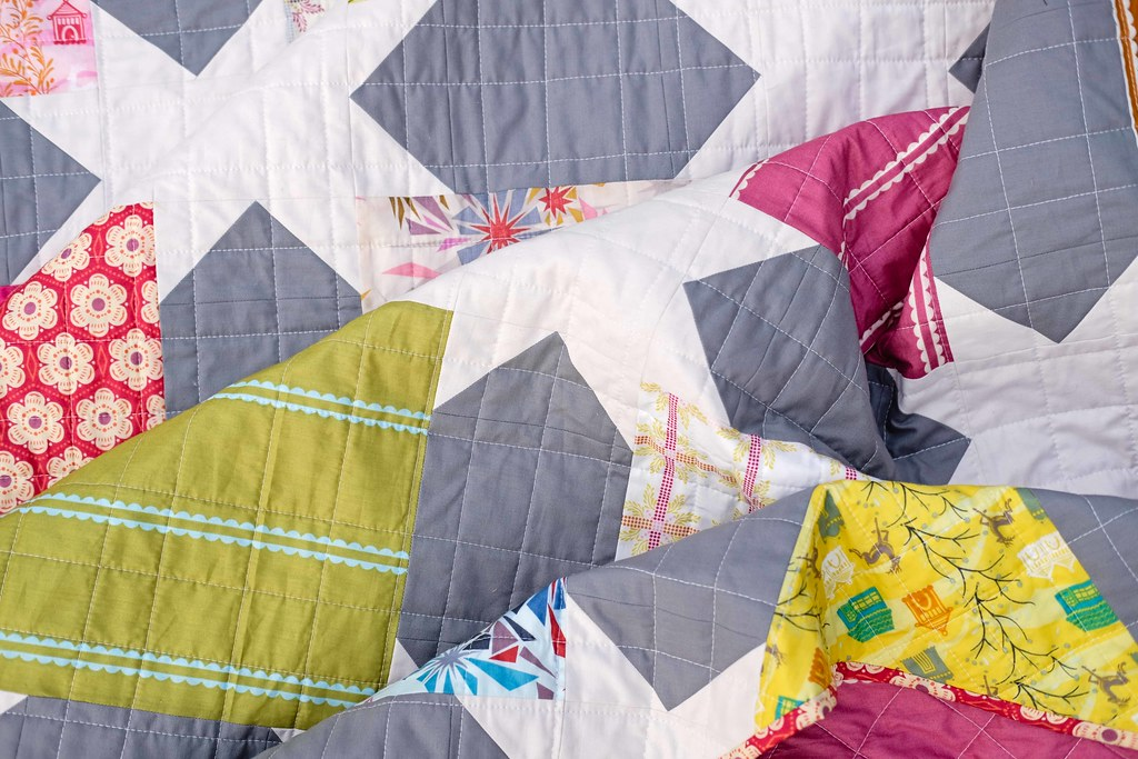 The Rachel Quilt Pattern - A Layer Cake Friendly Pattern by Erica of Kitchen Table Quilting